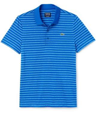 Lacoste Men's SPORT Striped Technical Jersey Golf Polo