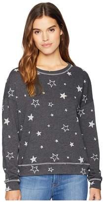 Michael Stars Long Sleeve Crew Neck Pullover Women's Long Sleeve Pullover