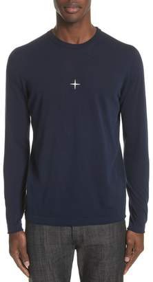 Stone Island Embroidered Crest Sweater