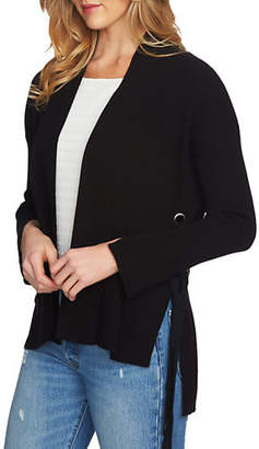 1 STATE Ribbed Cotton Cardigan