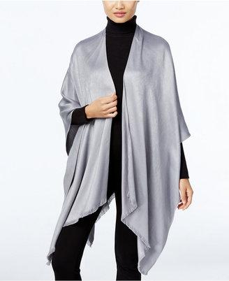Calvin Klein Solid Satin Poncho $68 thestylecure.com