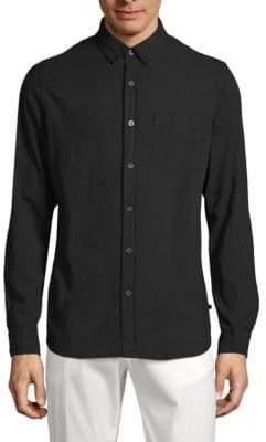 AG Jeans Classic Cotton Button-Down Shirt