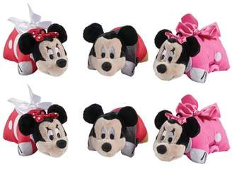 """Pillow Pets Disney Mickey and Minnie 6 Pack 5"""" Mini Pillow Pet Party Favor Pack"""