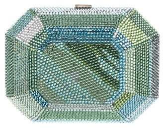Judith Leiber Multicolor Crystal-Embellished Minaudière
