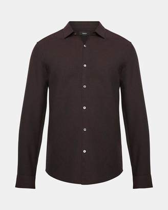 Theory Pin-Dot Standard-Fit Shirt