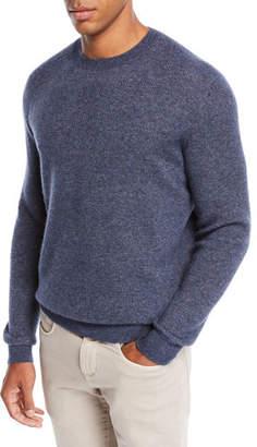 Loro Piana Men's Dunster Cashmere Crewneck Sweater