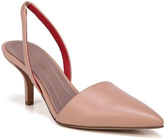 Diane von Furstenberg Mortelle Slingback Leather Pumps, Beige