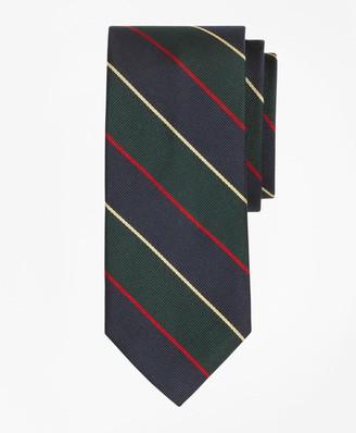 Brooks Brothers Argyle Sutherland Rep Slim Tie
