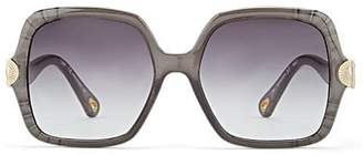 Chloé Women's Vera Sunglasses - Gray