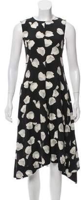 Theory Silk Midi Dress