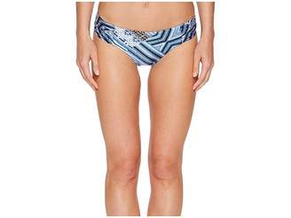 Seafolly Desert Tribe Ruched Side Retro Bottoms