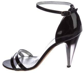 Marc by Marc Jacobs Patent Leather Multistrap Sandals