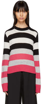 Rag & Bone Multicolor Striped Cashmere Annika Sweater