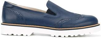 Hogan chunky sole loafers
