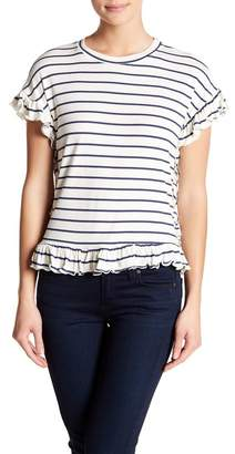 Romeo & Juliet Couture Short Sleeve Stripe Tee