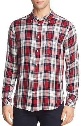 Rails Lennox Plaid Slim Fit Button-Down Shirt