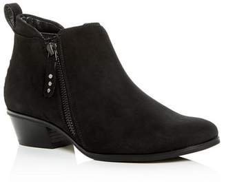 Paul Green Women's Travis Nubuck Leather Low-Heel Booties