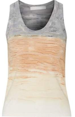 Kain Label Beryl Dégradé Stretch Cotton And Modal-Blend Tank