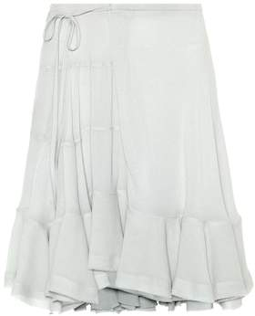 Chloé Crêpe miniskirt