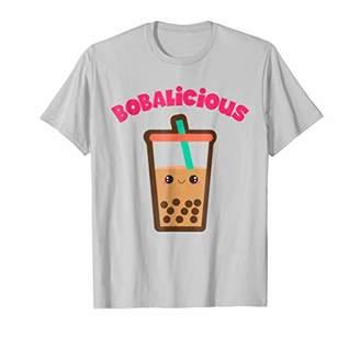 Cute Bobalicious Boba Milk Tea T-Shirt