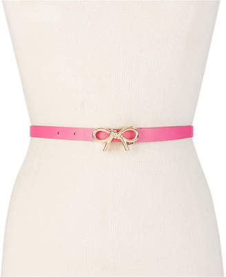 Kate Spade Mini Bow Leather Belt