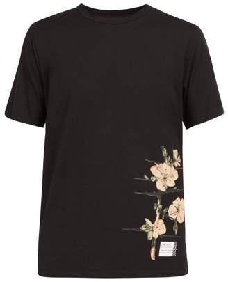 Loewe X Charles Rennie Mackintosh Printed Cotton T Shirt - Mens - Black