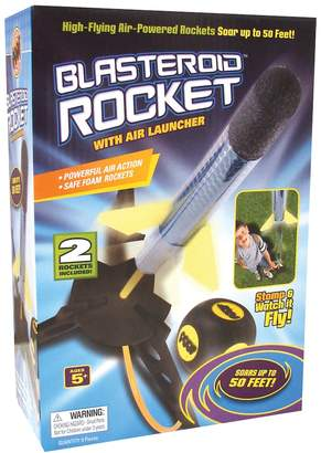 Poof POOF Blasteroid Rocket With Air Launcher