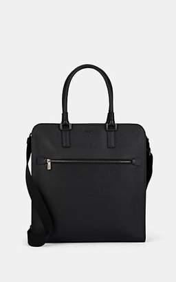 Serapian Men's Evolution Leather Tote Bag - Black