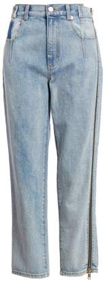 3.1 Phillip Lim High-Rise Zip Detail Straight-Leg Jeans