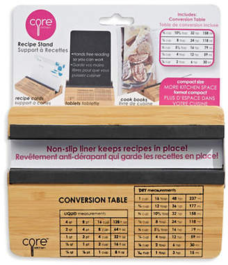CORE HOME Bamboo Recipe Stand and Tablet Holder