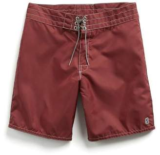 Todd Snyder Birdwell Beach Britches for Exclusive Birdwell Contrast Pocket 311 Board Shorts in Maroon