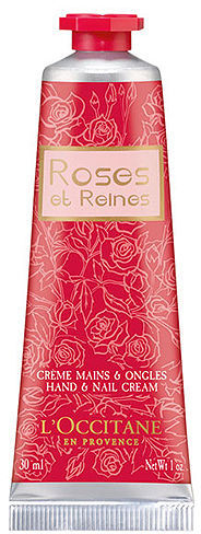 L'Occitane Roses et Reines Hand and Nail Cream 1 oz (30 ml)