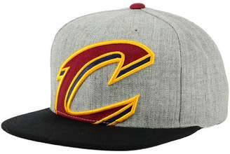 Mitchell & Ness Cleveland Cavaliers Cropped Heather Snapback Cap