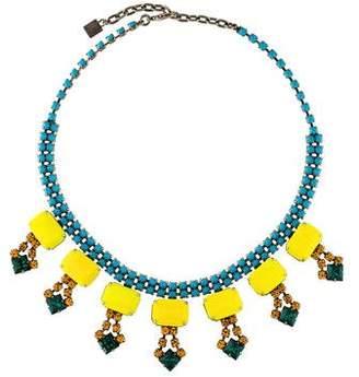 Dannijo Multicolor Collar Necklace
