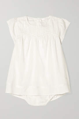 Chloé Kids - Months 1 - 18 Lace-trimmed Cotton-voile Dress