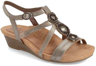 Rockport Cobb Hill 'Hannah' Leather Sandal