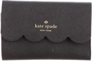 Kate SpadeKate Spade New York Scalloped Leather Wallet