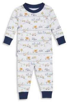 Kissy Kissy Baby's& Toddler's City Demo Cotton Pajamas