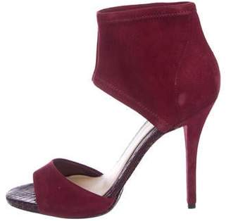 Brian Atwood Correns Suede Sandals