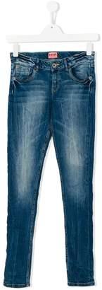 Vingino Teen distressed slim-fit jeans
