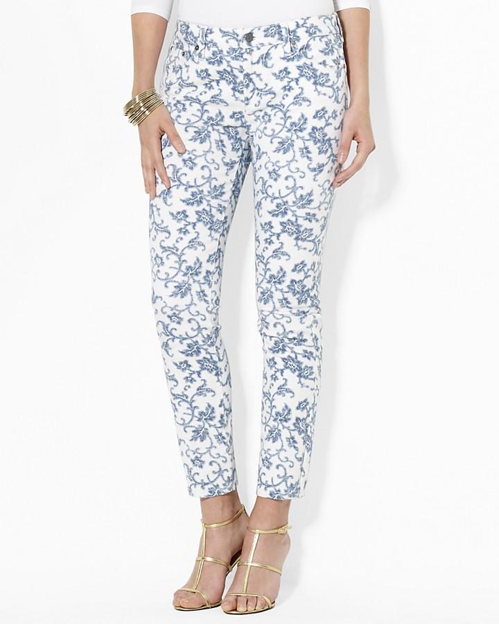 Lauren Ralph Lauren Modern Straight Ankle Jeans
