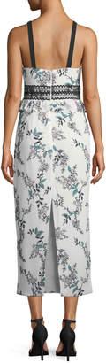 Style Stalker Stylestalker Kaylene Halter Floral Maxi Dress