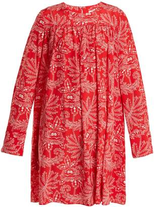 Diane von Furstenberg Ullman floral-print silk crepe de Chine dress