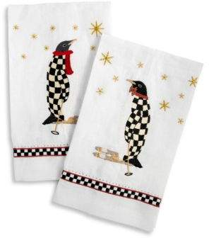 Penguin Two-Piece Guest Towel Set
