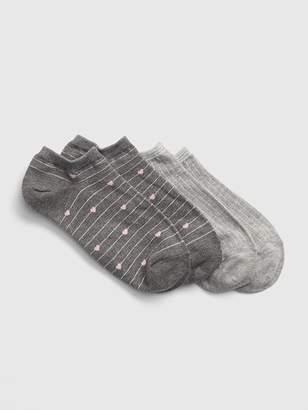 Gap Stripe Pattern Ankle Socks (2-Pack)