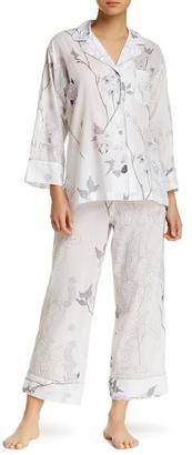 Natori Sakura Pajama 2-Piece Set $170 thestylecure.com