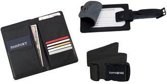 Samsonite Luggage Strap & ID Tag Travel Kit $39.99 thestylecure.com