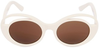 Kyme Round Acetate Sunglasses