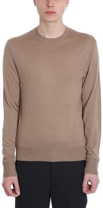 Neil Barrett Camel Wool Sweater