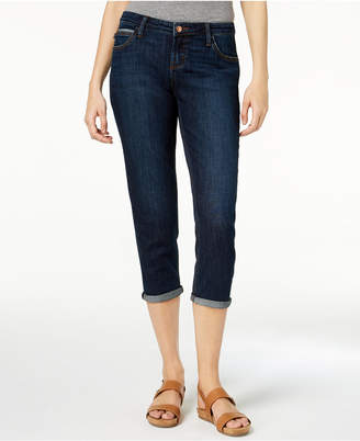 Lee Platinum Shea Cropped Girlfriend Jeans